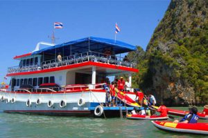 JAMES BOND ISLAND BIG BOAT TOUR