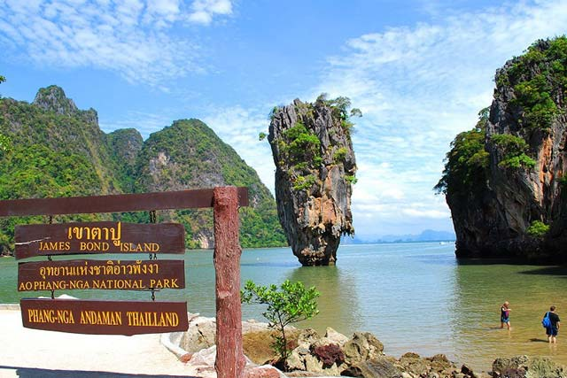 James Bond Island Tour By Longtail Boat Phuket Tours