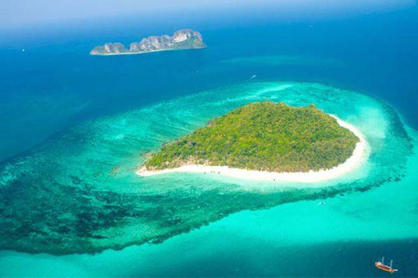phi phi and bamboo island tour